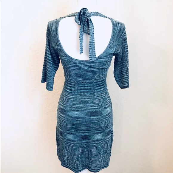 Guess Sweater Xs Open Dress Blue Back Jeans vgYbmy6If7